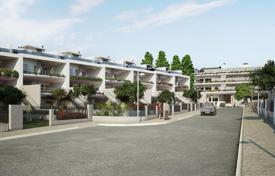 Off-plan residential for sale in Portugal. Two-storey townhouse with a terrace and a garden, in a luxury residential complex, near the sea, Lisbon, Portugal