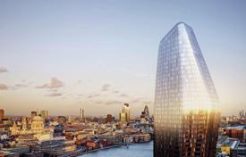 Luxury 1 bedroom apartments for sale in Western Europe. Apartment with a winter garden and panoramic city views in London