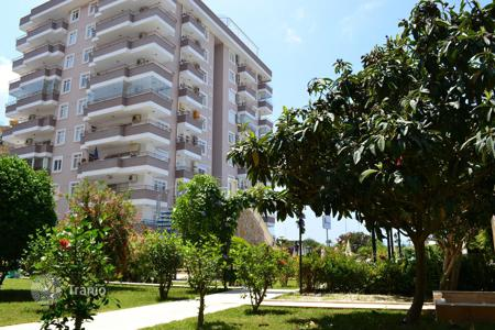 2 bedroom apartments for sale in Western Asia. Furnished apartment with 2 bedrooms, 2 balconies and sea views. The complex with private infrastructure, 100 m from the beach, Alanya, Turkey