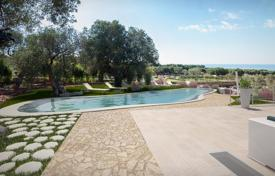 Luxury houses for sale in Apulia. New villa with a swimming pool, a garden and a guest house, Santa Maria di Leuca, Italy