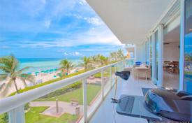 Renovated bright apartment on the first line of the sandy beach in Sunny Isles Beach, Florida, USA for $2,250,000