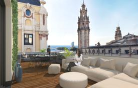 Luxury penthouses for sale in Barcelona. New penthouse in a historic listed building with an elevator, in the heart of the old town of Barcelona, Spain