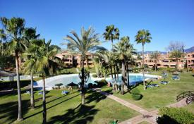 Apartments for sale in Malaga. Two-storey penthouse with a terrace in a residential complex with a communal garden and a swimming pool, San Pedro de Alcantara, Spain