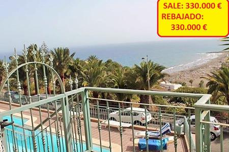 2 bedroom apartments for sale in Gran Canaria. Excellent Triplex Sea View