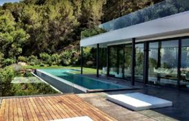 Modern villa with a large plot overlooking the sea and mountains, San Jose, Ibiza, Spain for 18,800 € per week