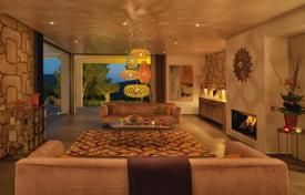 Houses with pools for sale in Ibiza. Premium designer seaview villa with a huge plot and a swimming pool, Ibiza, Spain