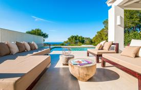 Luxury houses with pools for sale in Sant Josep de sa Talaia. Reformed villa with views upon the sea