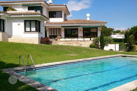 Luxury houses with pools for sale in Costa Brava. Villa – S'Agaró, Catalonia, Spain