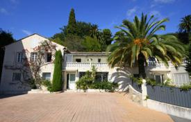 Beautiful villa with a landscaped plot, a pool and a sauna, Cannes, France. Price on request