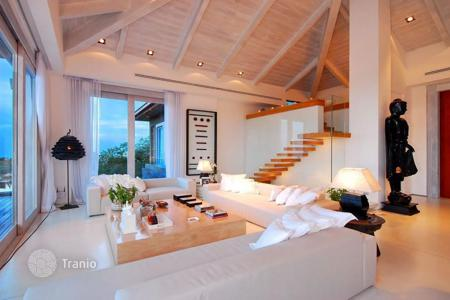 5 bedroom villas and houses to rent in Ko Samui. Villa with panoramic sea view in Plai Laem