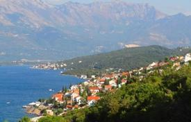 Development land for sale in Krasici. Three area 70 meters from the sea, the village of Krasici, Tivat