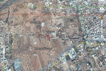 Land for sale in Ypsonas. Building Plot