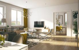 Residential from developers for sale in Germany. Spacious four-bedroom penthouse with a garden and an underground parking in Berlin, Germany