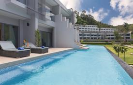 Furnished apartment with a terrace and a sea view, Phuket, Thailand for $179,000