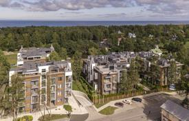 Coastal apartments for sale in Latvia. 3-room apartment with individual terrace on the roof — very special planning