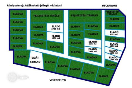 Development land for sale in Fejer. Development land - Velence, Fejer, Hungary
