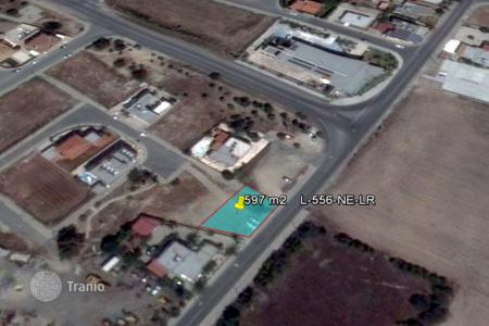 Cheap land for sale in Oroklini. Building Plot — Reduced