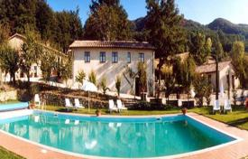 Old villa with a swimming pool in Castell'Azzara, Tuscany, Italy for 1,300,000 €