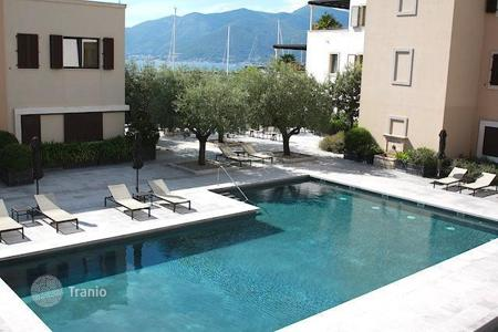 Apartments with pools for sale in Tivat. Apartment in Tivat, Montenegro