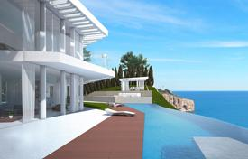 Luxury villas and houses with pools for sale in Costa Blanca. Luxury villa on the seafront in Javea