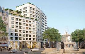 New homes for sale in Paris. Apartment with a terrace, a loggia and a roof garden, in a new residence, next to the Viaduc des Arts and the Bois de Vincennes, Paris