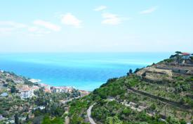 Off-plan property for sale in Liguria. Plot of land with an approved project in Bordighera