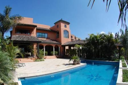Houses for sale in Costa Rica. Colonial view home for sale in Santa Ana gated community