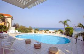 4 bedroom houses by the sea for sale in Famagusta. Four Bedroom Beach Front Villa in Cape Greco