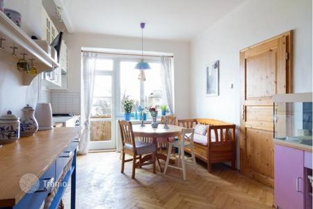Property for sale in the Czech Republic. Bright two-bedroom apartment with a view of Břevnov monastery in the sixth district of Prague