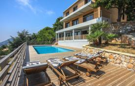 Luxury houses with pools for sale in La Turbie. Stylish modern villa in the small town of La Turbie