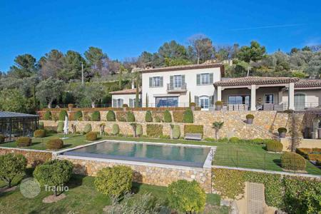 Luxury 4 bedroom houses for sale in Muan-Sarthe. Close to Mougins — Panoramic view