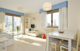 1 bedroom apartments for sale in Spain. One bedroom apartment in a new complex with swimming pool on the beachfront in Calp, Alicante