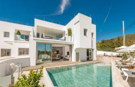 Property to rent in Can Pep Simó. New villa overlooking the sea, the old town of Ibiza and the island of Formentera, Can Pep Simo, Balearic Islands, Spain