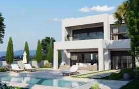 Houses for sale in Murcia (city). New four-bedroom villa with a sea view, close to the golf course, Lo Romero, Spain