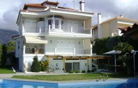 Coastal residential for sale in Lagonisi. Modern sea view estate with a swimming pool and an independent apartment, at 850 m from the beach, Lagonissi, Greece