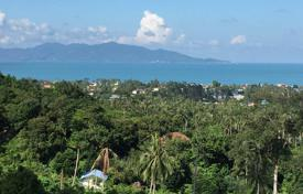 Development land for sale in Thailand. Plot of land in the prestigious area of Bophut Hill, Koh Samui