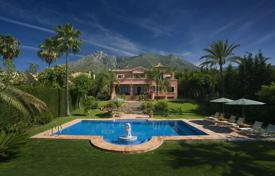 Property to rent in Andalusia. Villa Carmen, Golden Mile, Marbella
