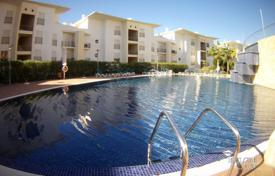 Apartments with pools for sale in Portugal. One-bedroom penthouse in a residence with two swimming pools in a walking distance from the beach, Albufeira, Portugal
