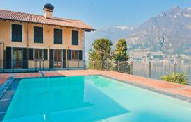 Apartments with pools for sale in Lombardy. Modern apartment in a residential complex, Faggeto Lario, Italy
