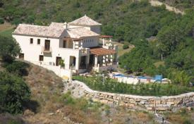 Spacious villa with a private garden, a pool, a garage and terraces, Benahavis, Spain for 2,375,000 €