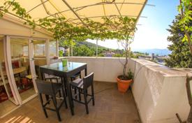 Coastal apartments for sale in Dalmatia. Apartment with winter garden, fireplace and sauna in Split