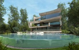 Off-plan property for sale in Spain. New villa in Barcelona, Spain. House with a garden and a water lily pond, spacious terraces and a jacuzzi, in prestigious Pedralbes district