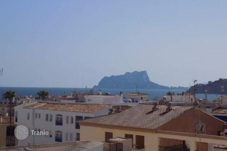 Cheap apartments for sale in Moraira. Apartment of 1 bedroom with terrace and views to the sea in Moraira