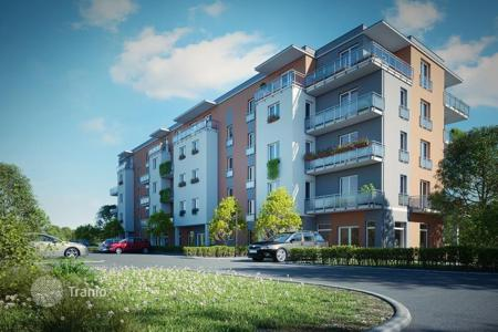 Cheap apartments for sale in the Czech Republic. One-bedroom apartment in a new residential complex in Marianske Lazne