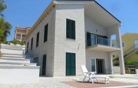 Luxury property for sale in Croatia. Elite villa with a balcony, a pool and sea views, near the beach, Trogir, Splitsko-Dalmatia County, Croatia