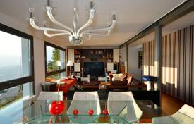 Property to rent in Ticino. Modern villa overlooking Lake Lugano, Aldesago, Switzerland