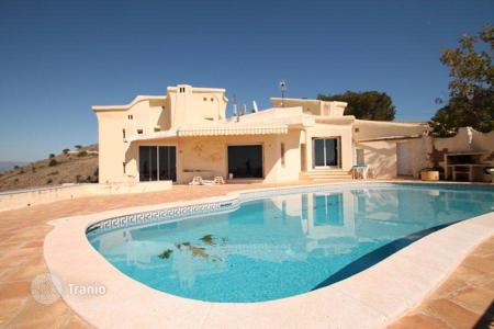 5 bedroom houses for sale in Spain. Sea view villa with swimming pool and garden in Benidorm, Spain