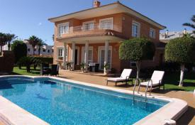 Luxury 4 bedroom houses for sale in Spain. Comfortable villa overlooking the sea with a pool and a garage, La Veleta, Spain