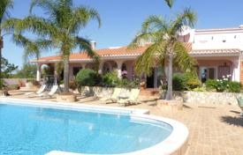 6 bedroom houses for sale in Algarve. Beautiful country villa with 2 bedroom cottage, studio & tennis court, nr Lagos, West Algarve