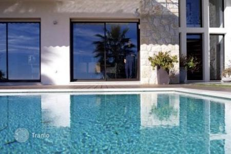 5 bedroom houses for sale in Villefranche-sur-Mer. Modern sea view villa with garden and swimming pool, in Villefranche-sur-Mer, Cote d`Azur, France